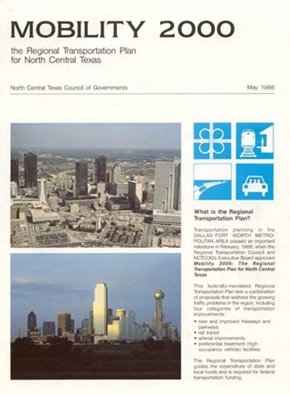 The executive summary cover for Mobility 2000