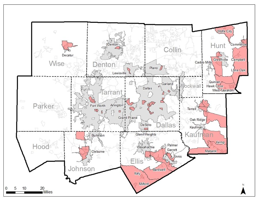 This is a map of the economic development opportunity zones