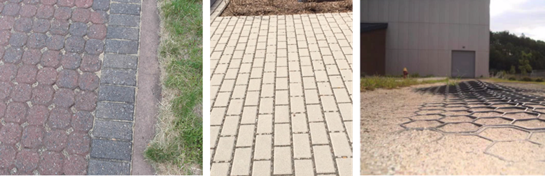 Permeable pavement options