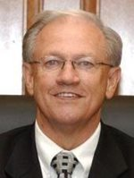 A photo of Johnson County judge Roger Harmon, the new chair of the RTC.