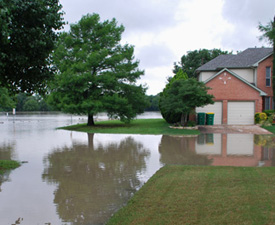 Flooded house 2015